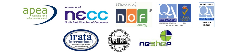 Abfad membership logos and accreditations