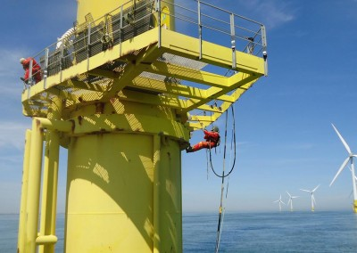 Monopile Refurbishment of the First Commercial Wind Farm in the UK