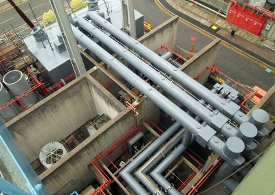 Power station shut down maintenance