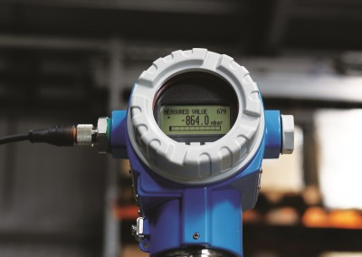Various different monitoring instruments can be used with Pipevac