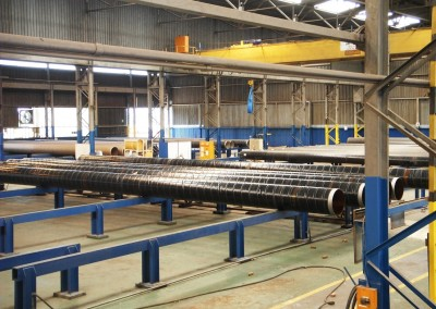Pipevac can be installed in the factory or in the field
