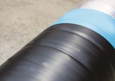 Pipevac incorporates various different wrapping systems