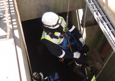 IP being winched to safety