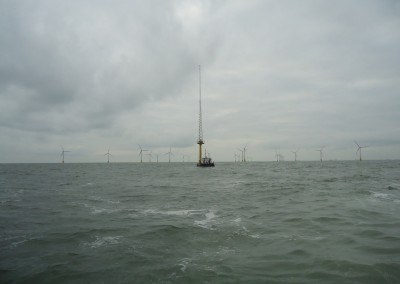Met Mast at Scroby Sands Wind Farm