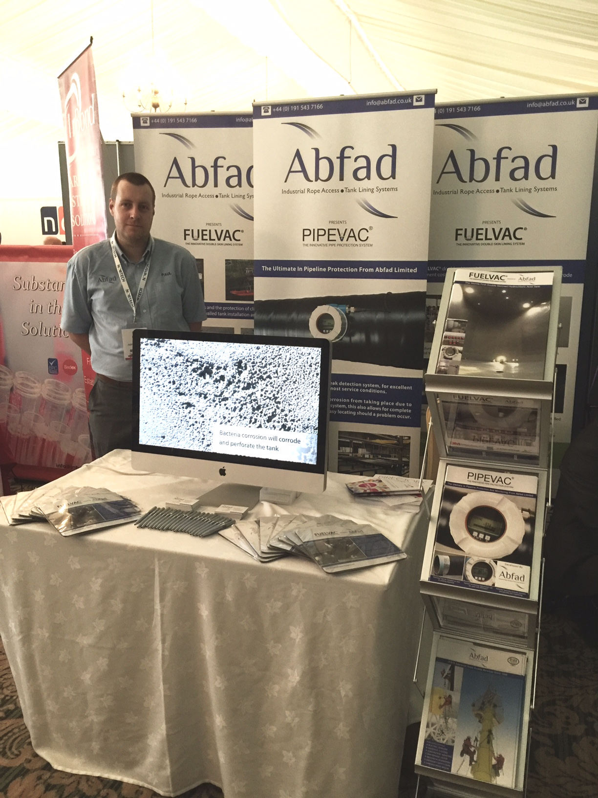 Abfad's stand at NEPIC Meet The Members 2016