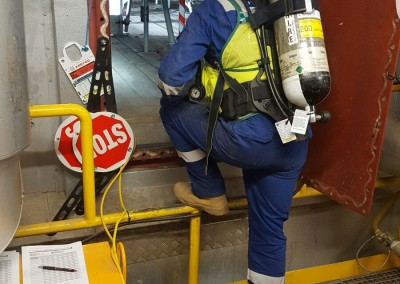 Confined space emergency rescue and safety cover