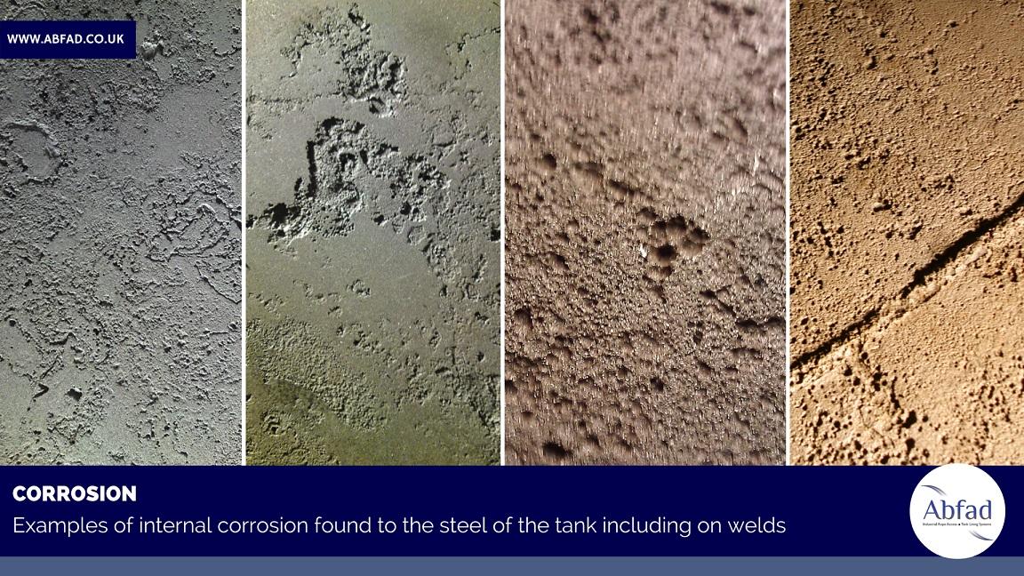 Corrosion in storage tanks
