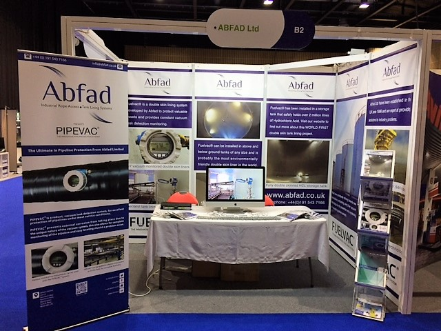 Abfad's stand at APEA Live 2016