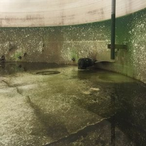 severe corrosion and coating delamination inside storage tank