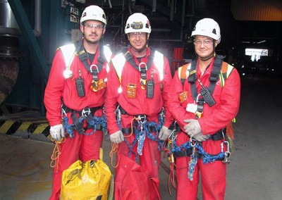 Rope rescue team