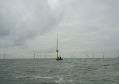 Scroby Sands offshore wind farm Met Mast