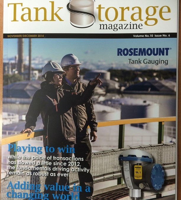 Abfad Ltd HCL Project Featured in Tank Storage Magazine