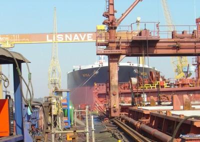 Lisnave shipyard, Portugal
