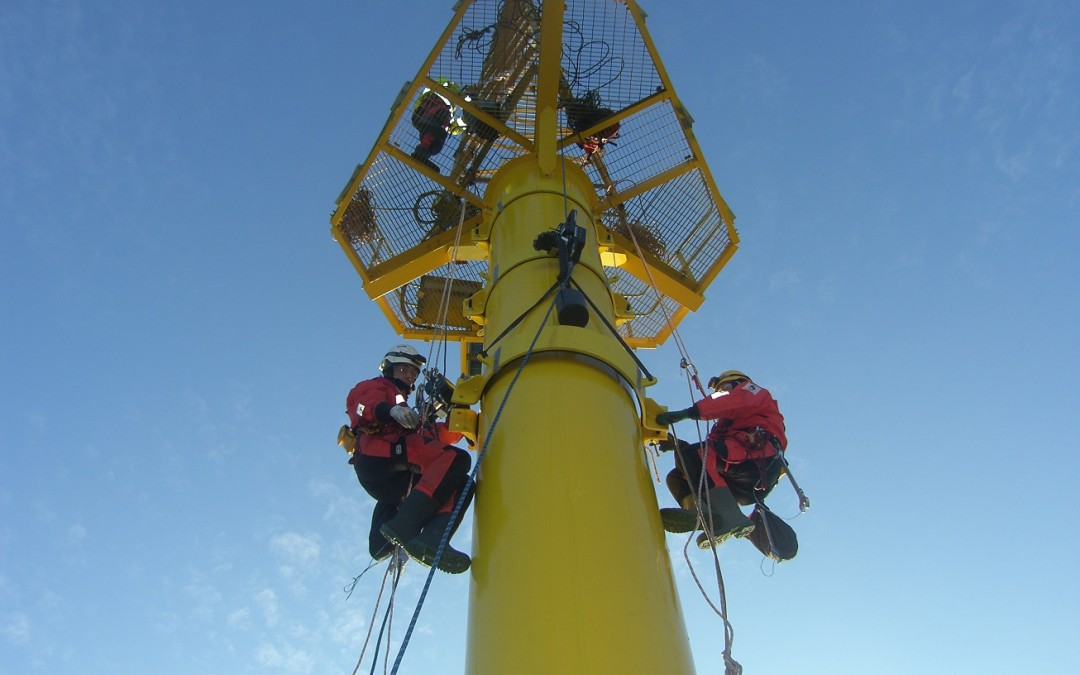 Offshore Met Mast Restoration – Major Refurbishment To Scroby Sands Met Mast
