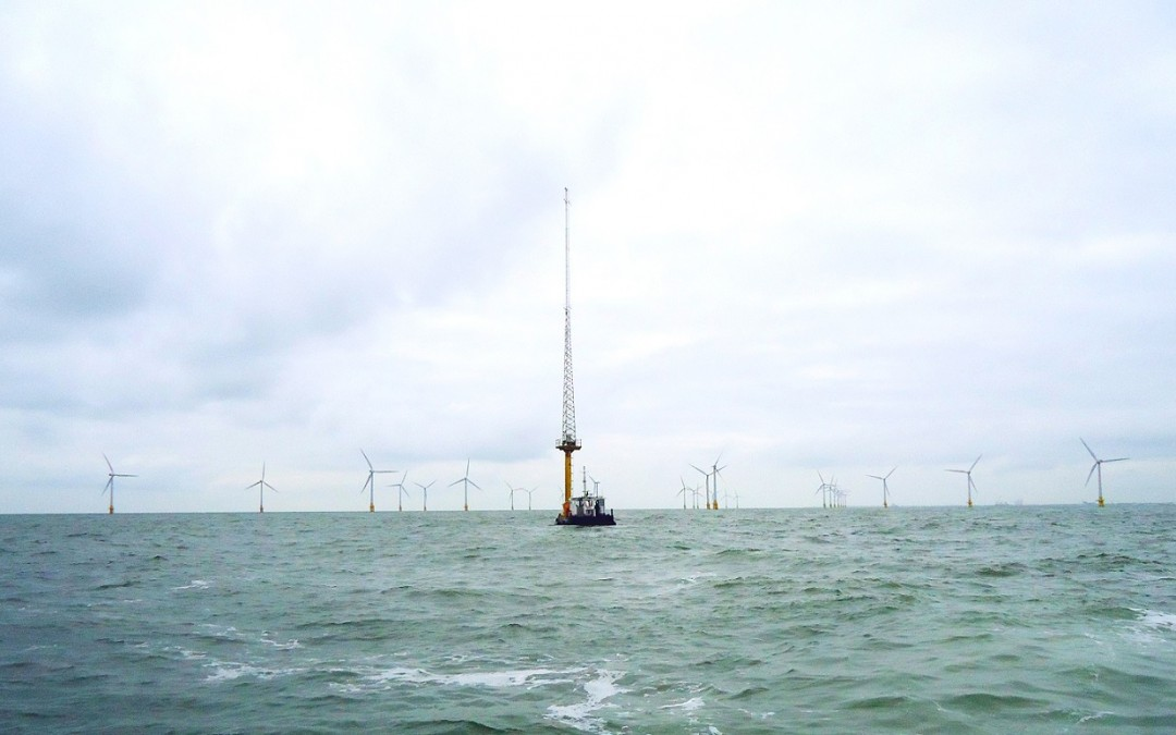 Met Mast Removal at Scroby Sands