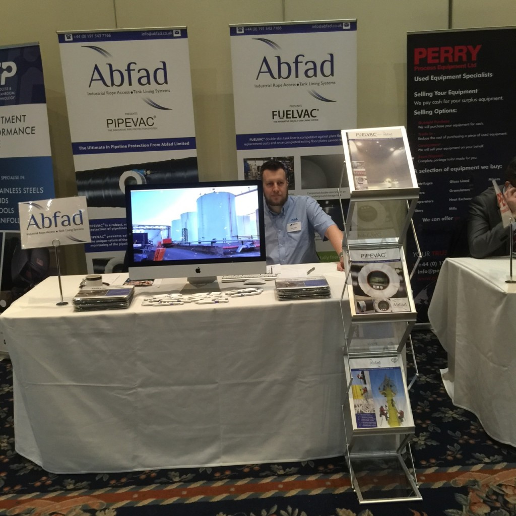 Abfad stand at the BASME Annual Conference 2015