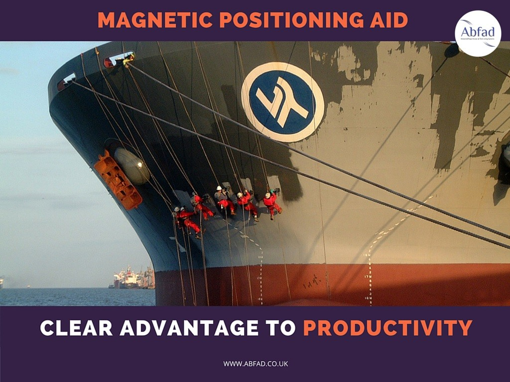 Abfad's Magnetic Positioning Aid provides a clear advantage to productivity