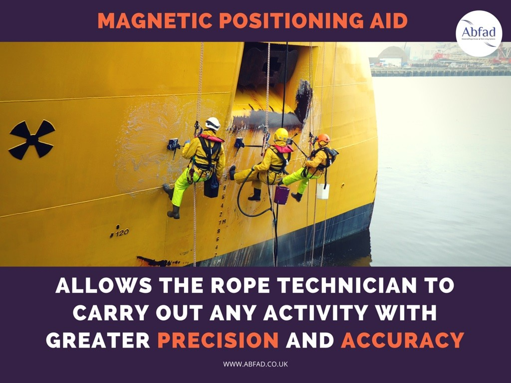 Abfad's Magnetic Positioning Aid allows for greater precision and accuracy