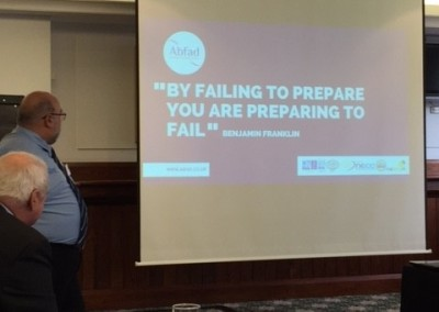 By failing to prepare you are preparing to fail
