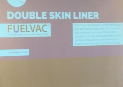 Fuelvac double skin tank lining system