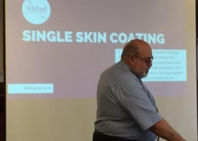 single skin coatings