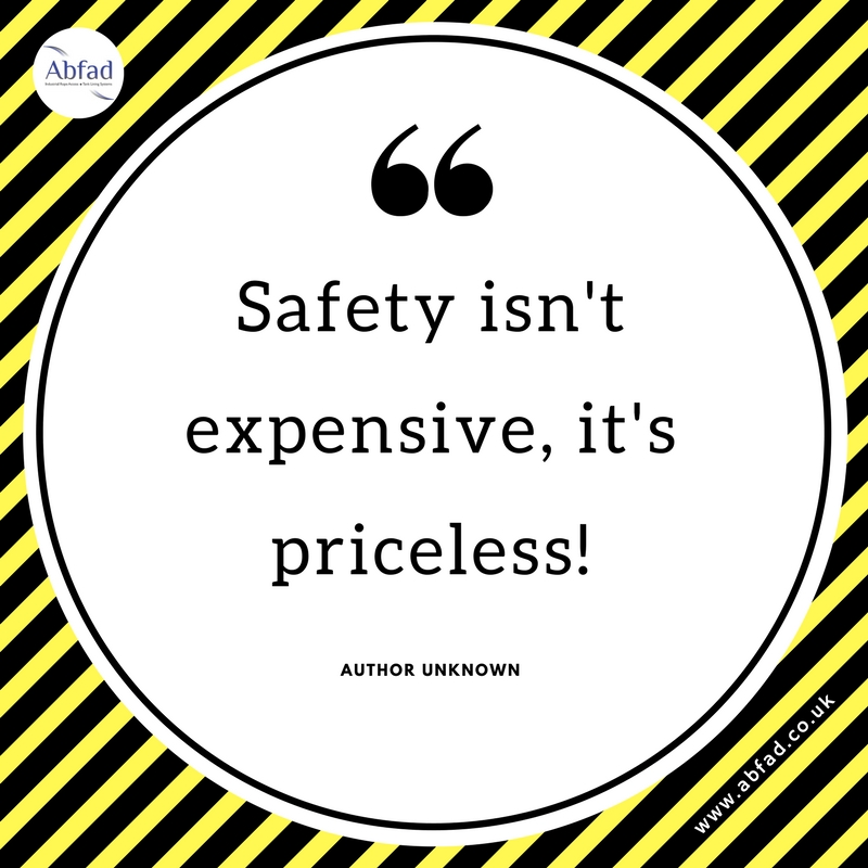 Safety is priceless