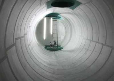 Double skin materials installed in underground storage tank