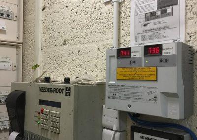 SGB vacuum monitoring leak detection unit